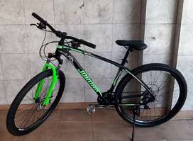 Bicicleta mountain bike rodado 29 jordan aluminio   impecable""""