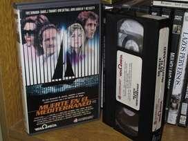 Muerte En El Mediterraneo (Midnight Crossing) - Roger Holzberg- VHS 1988 -