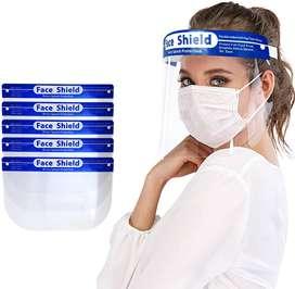Paquete De 10 Protectores Faciales, Face Shield