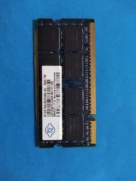 Memoria DDR2 para portátil de 2 gb