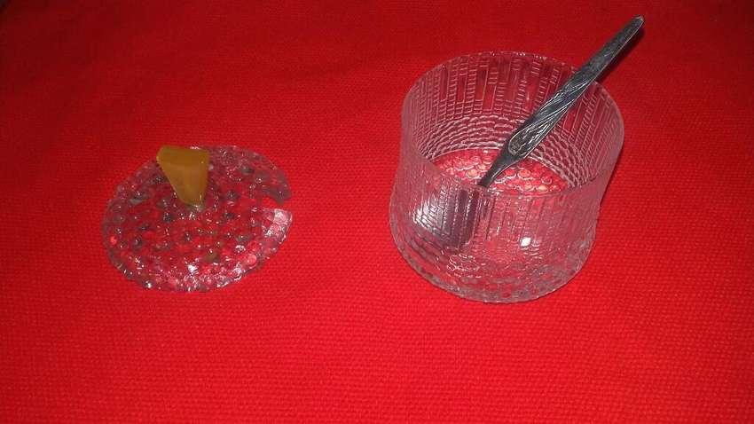 Azucarera en Vidrio Labrado 0