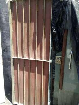 Puertas blindadas con rejas