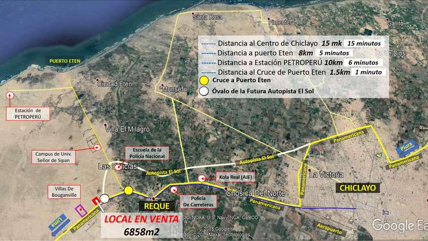 Local Para Grifo Frente a la Panamericana en Reque,Chiclayo 0