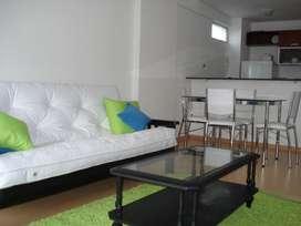 Amoblado en Belgrano, luminoso y confortable.