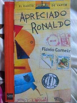 Libro Apreciado Ronaldo