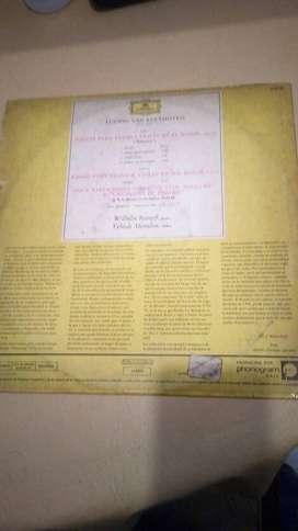 Disco Lp Vinilo Willhelm Kempfg Yehudi Menuhin Sonata 24