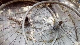 Ruedas delanteras de bici rod.26