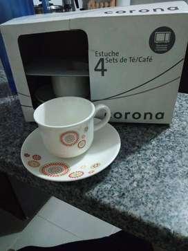 SET DE POCILLOS MARCA CORONA