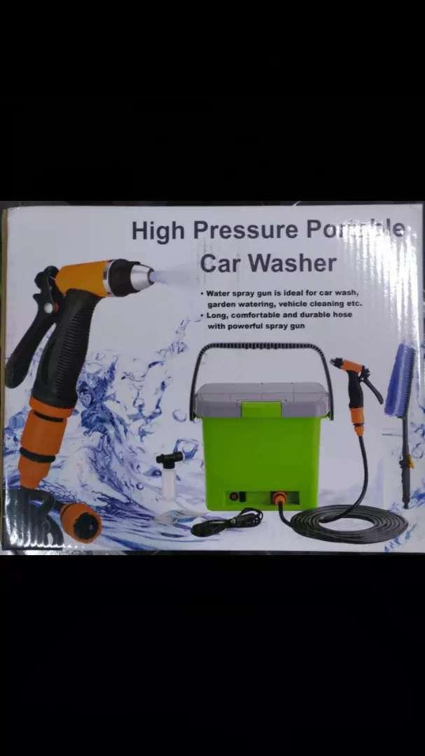Car wash portatil
