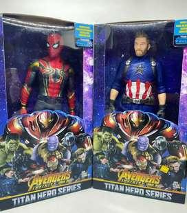Avengers de caucho