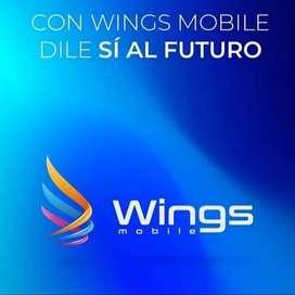 Sea parte de la nueva empresa  wings mobil