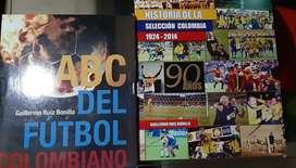 Venta de libros de futbol en perfecto estado