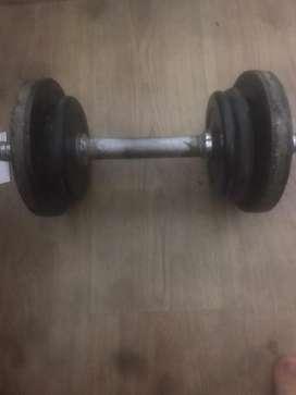 Mancuernas con peso de 2.5 kg y5 kg