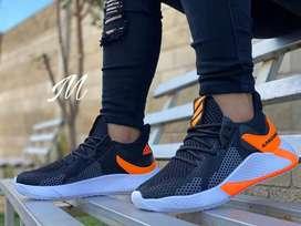 Zapato Tennis Deportivo Bota Botin Adidas Alpha Para Hombre