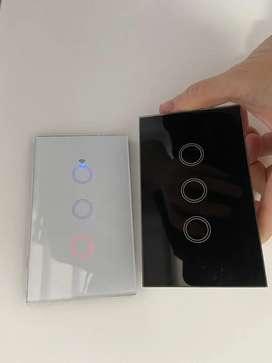 Interruptores wifi inteligentes smart switch