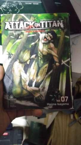 Manga de attack on titan