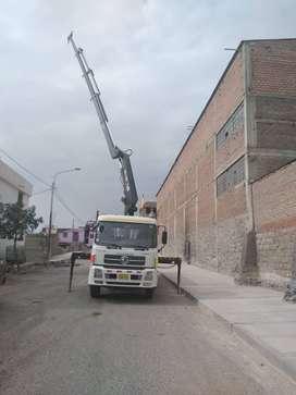 Vendo camion grua 2011