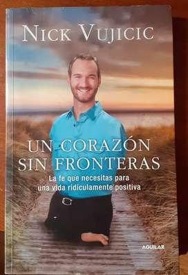 """Un Corazon sin Fronteras """"Nick Vujicic"""""""
