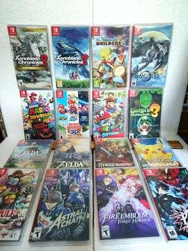 Nintendo Switch Caja Plástica Para Juegos portada Incluida