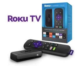 Converti tu tv en smart con el Roku Express. Con garantía y entrega a domicilio.