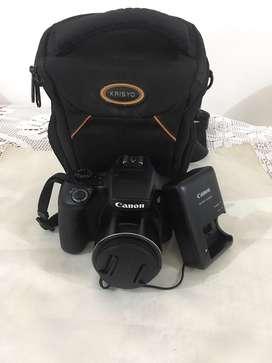 Vendo camara profesional canon  SX60 HD