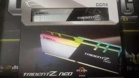 8 GB Memoria Ram Gskill Trident Z Neo 3600mhz