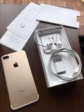 Se vende o se cambia Iphone 7 plus 32 GB con garantia