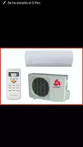 Aire acondicionado 18000 btu con ahorrador de energia