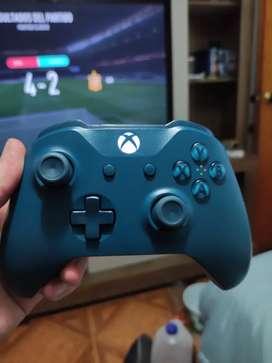 Control Xbox one edición limitada azul