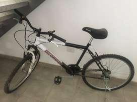 Bicicleta R28 con amortiguador