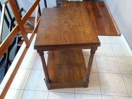 mesas y sillas  varias