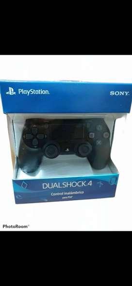 Joystick PS4 Sony color negro