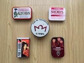 Cajitas metálicas de colección
