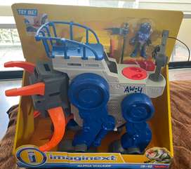 Fisher Price Imaginext Alpha Walker Playset Juguete Espacial