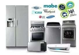 Servicio inmediato somos especializados en reparaciones y mantenimientos de neveras y lavadoras.