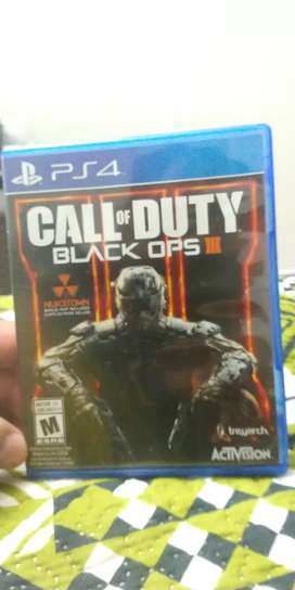 Juego PS4 call of duty