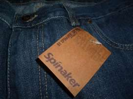 Pantalón de Jeans Marca Spinaker Nuevo Impecable. Ultimo en la moda.