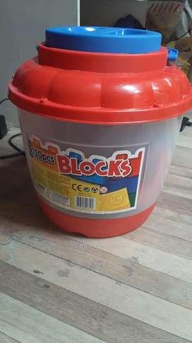 Cubeta de bloques