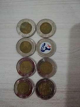 Coleccion de monedas canal de panama