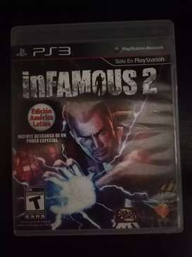 Infamous 2 PS3 Play 3 Cambio o Vendo