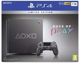 Play station 4 days of play