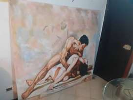 Arte pintura en oleo
