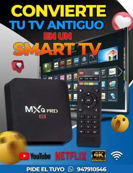 TV Box Convierte tu tv antiguo en un Smart TV
