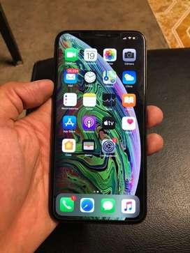 Iphone xs max 64gb space gray libre para claro sin face id