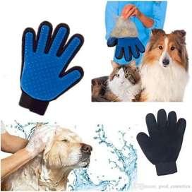 Guante de Silicona masajeador para mascotas
