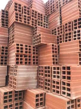 Materiales de construccion puesto en obra agregados en general