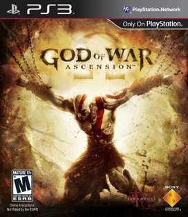 God Of War Ascension PS3 NUEVO Y SELLADO