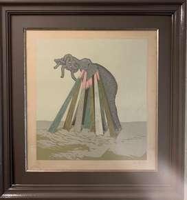 Arte Carlos Revilla litografía año 79