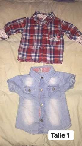 lote de ropa de bebe varón