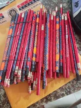 Lápices americanos escolares